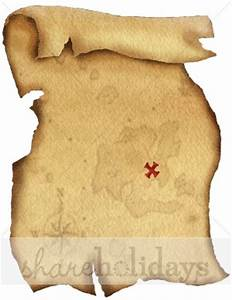 pirate scroll template - treasure map background party clipart backgrounds