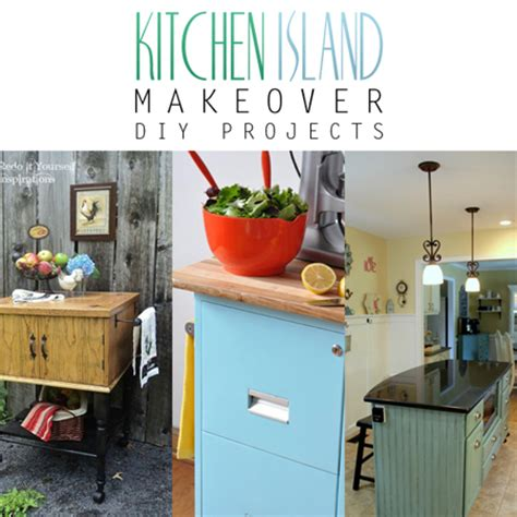kitchen island projects kitchen island makeover diy projects the cottage market 1988