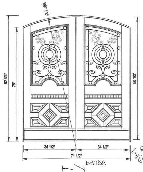 entry door sizes custom exterior door sizes