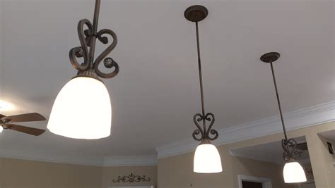 how to hang pendant lights how to install a pendant light fixture youtube