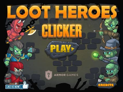 Loot Heroes Clicker Hacked (cheats)  Hacked Free Games