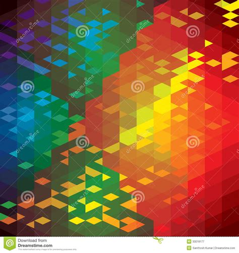 Abstract Colorful Geometric Shapes by Abstract Colorful Background Of Geometric Shapes Stock