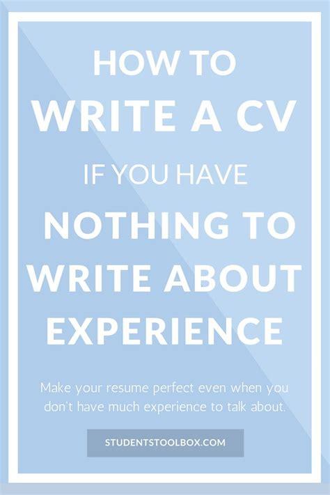 How To Write A Cv If You No Experience by M 225 S De 25 Ideas Incre 237 Bles Sobre Plantilla De Cv En Ingl 233 S