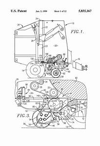 Patent Us5855167 - End Of Round Bale Twine Guide