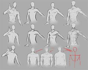 Anime drawing tips on Pinterest | How To Draw, Male Body ...