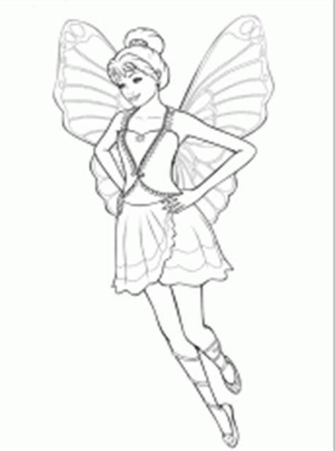 desenhos da barbie   segredo das fadas  colorir