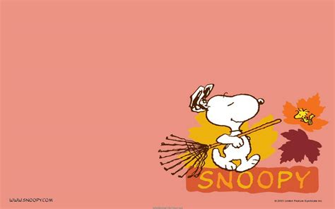 Thanksgiving Snoopy Wallpapers
