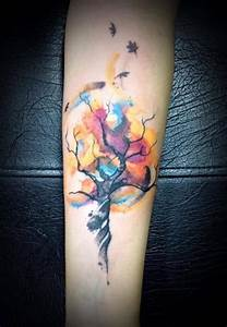 30 Gorgeous Fall Inspired Tattoo Designs | Amazing Tattoo ...