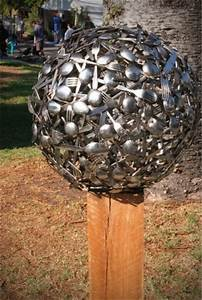12 Ideas How To Create Unique Garden Art From Junk