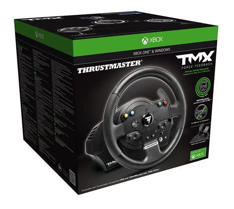 siege volant xbox one thrustmaster tmx feedback un nouveau volant pour