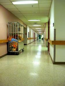 Hospital corridor from the waiting room. | Blogging on a ...