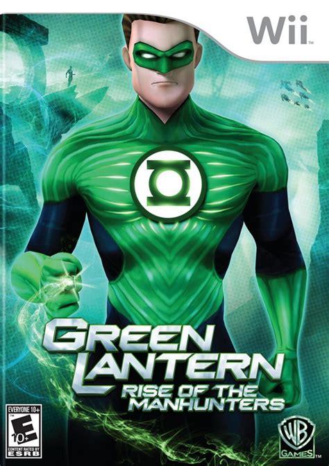 green lantern rise of the manhunters box for wii gamefaqs