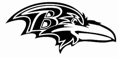 Ravens Baltimore Clip Stencil Clipart Steelers Raven