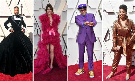 From Billy Porter Tux Gown Linda Cardellini Pink