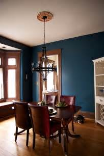 teal wall paint and unpainted wooden trim for the dining room dining room paint colors