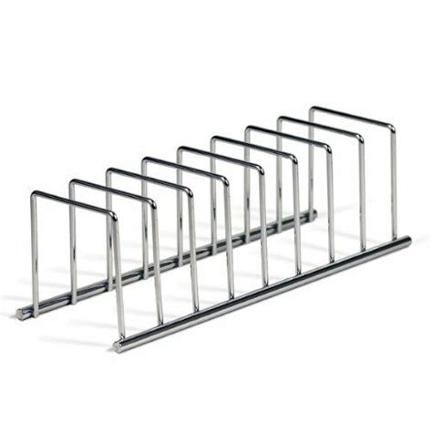 kitchen cabinet dish organizer storage plate holder steel rack utensil shelf lid ebay