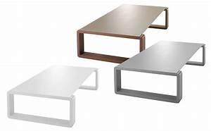 Table Basse Made Com : table basse kama plateau argent structure argent ego paris made in design ~ Melissatoandfro.com Idées de Décoration