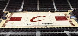 new cavs court is cool clean classic the official site of the cleveland cavaliers