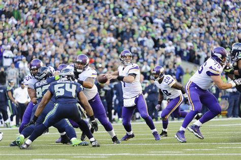 vikings  seahawks final score minnesota  blown