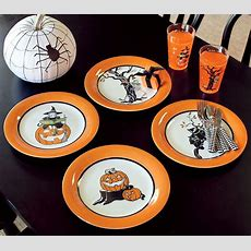 Cute Halloween Dinnerware & These Cute Halloween Dishes