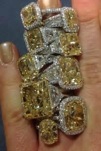 Canary Star Yellow Diamond Ring