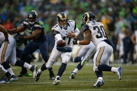 los angeles rams  seattle seahawks game time tv