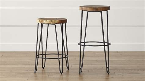 crate and barrel origin backless bar stools crate and barrel