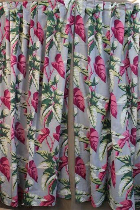 vintage barkcloth drapes cotton barkcloth fabric
