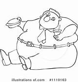 Fat Clipart Coloring Drawing Pages Obesity Illustration Ugly Chef Royalty Sketch Skinny Rf False Means True Cox Dennis Getdrawings Djart sketch template