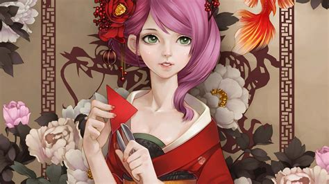 Anime Geisha Wallpaper - geisha anime wallpapers driverlayer search engine