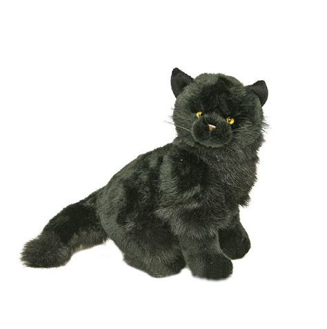 black catkitten soft plush toycrystalcm stuffed