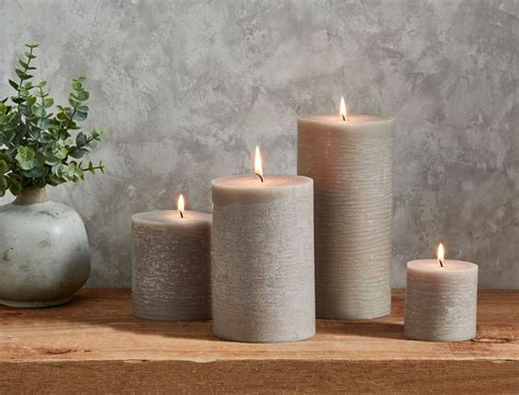 Candles For Home Decor: RUSTIC CANDLES