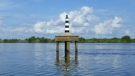 cocoa beach community donates money  lighthouse