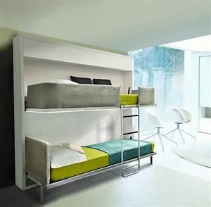 Lit Gain De Place : lit gain de place et meubles pour am nagement petit espace ~ Premium-room.com Idées de Décoration