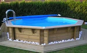 Piscine Semi Enterré Bois : destockage piscine bois hors sol ~ Premium-room.com Idées de Décoration