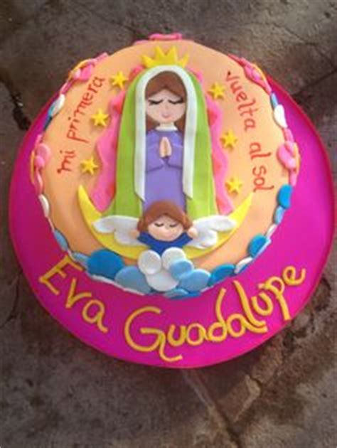 Virgen de Guadalupe cake Cupcakes ideas Pinterest