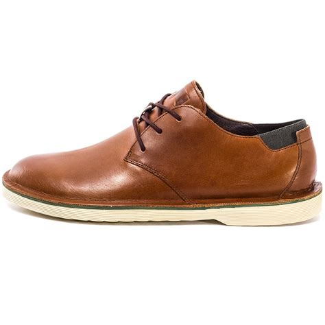 casual kickers brown cer morrys mens casual shoes in brown