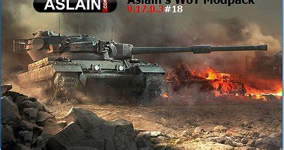 Aslain's WoT Modpack — download mods for World of Tanks (WoT)
