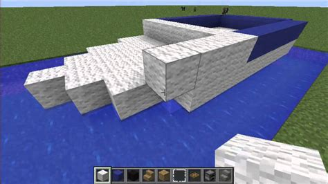 Maycraft Boat Motor by Minecraft Tutorial How To Build A Motor Boat