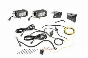 Quadratec 4 U0026quot  Rectangular Led Lights With Wiring Harness