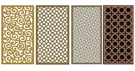 wood grill decorative metal and metal walls on