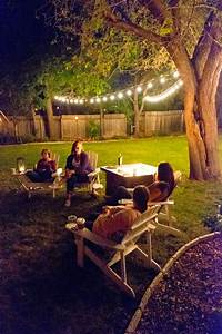 Domestic Fashionista  Girl U0026 39 S Night In  Backyard Game Night