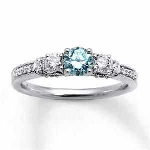 incredible blue diamond engagement rings zales matvukcom With zales diamond wedding rings