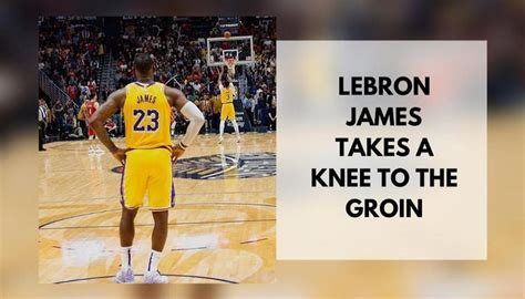 LeBron James concedes taking Patrick Beverley's knee to ...