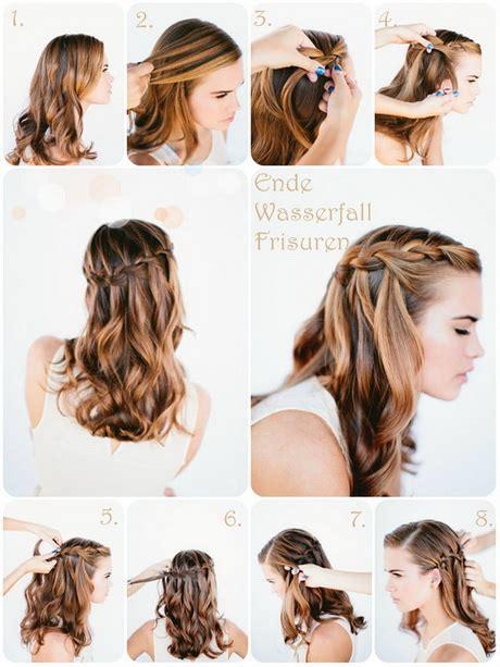 Schöne einfache frisuren lange haare