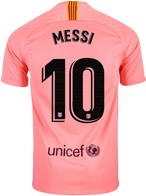 201819 Kids Nike Lionel Messi Barcelona 3rd Jersey
