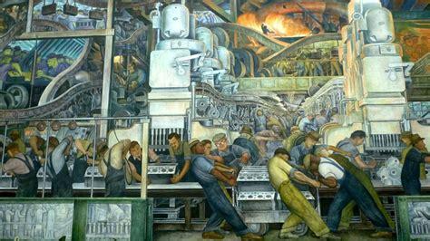 diego rivera mural detroit institute of arts diego rivera detroit industry murals smarthistory