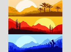 Desert free vector download 143 Free vector for