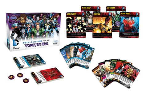 Dc Deck Building Expansion 2 by Dc Deck Building Dice Tower News
