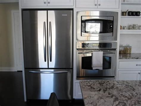 number mattresses fridge to wall oven kitchens appliances kitchen